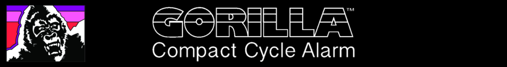 gorilla cycle alarms products